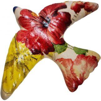 Andorinha cerâmica colibri artesanato